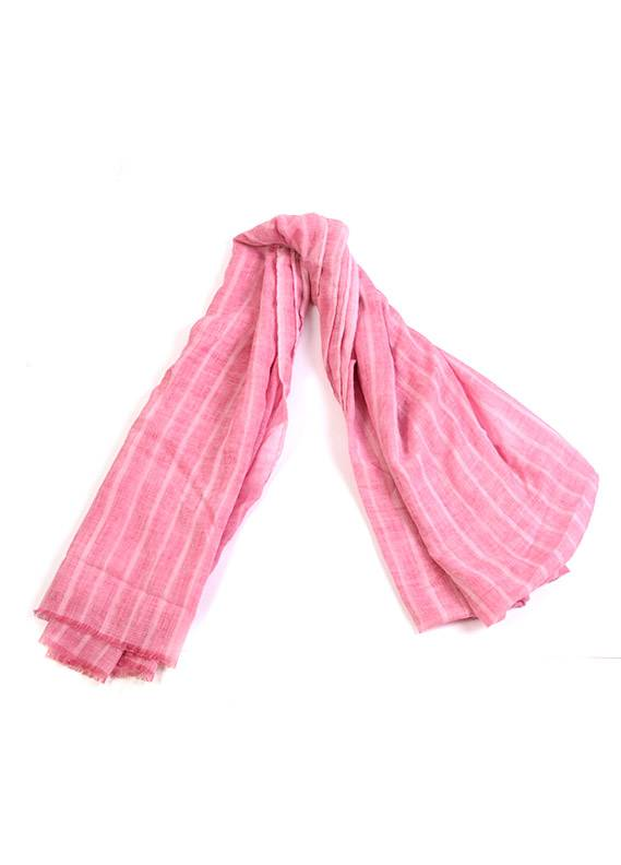 Pink Plain Lawn Dupattas for women - SA 404