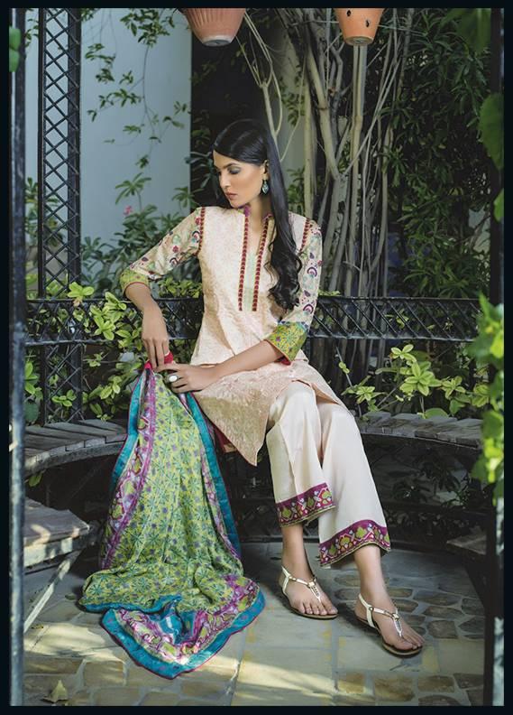 Sahil By ZS Textiles Embroidered Cotton Unstitched 3 Piece Suit SH17C 6A