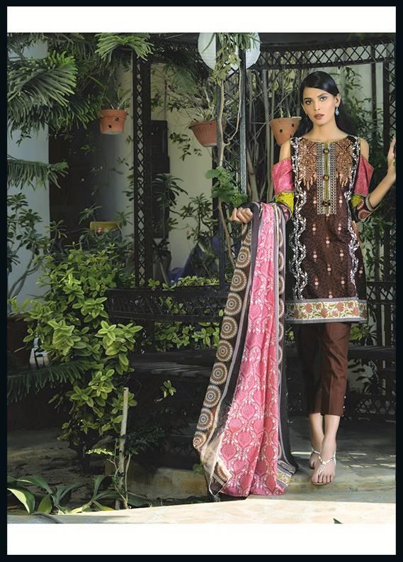 Sahil By ZS Textiles Embroidered Cotton Unstitched 3 Piece Suit SH17C 7B