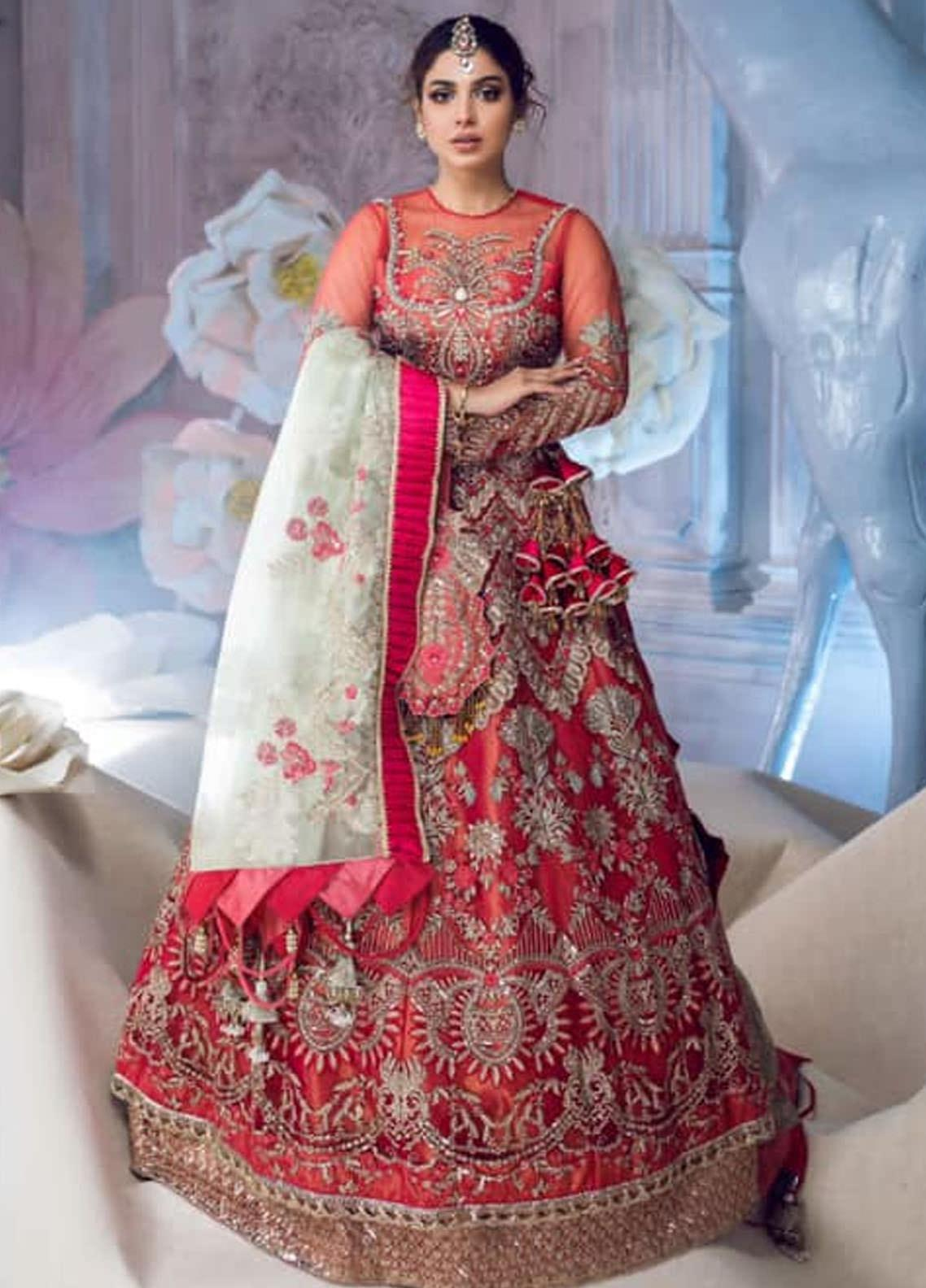 Shiza Hassan Embroidered Net Unstitched 3 Piece Suit SH21LF 02 Faerie - Luxury Collection
