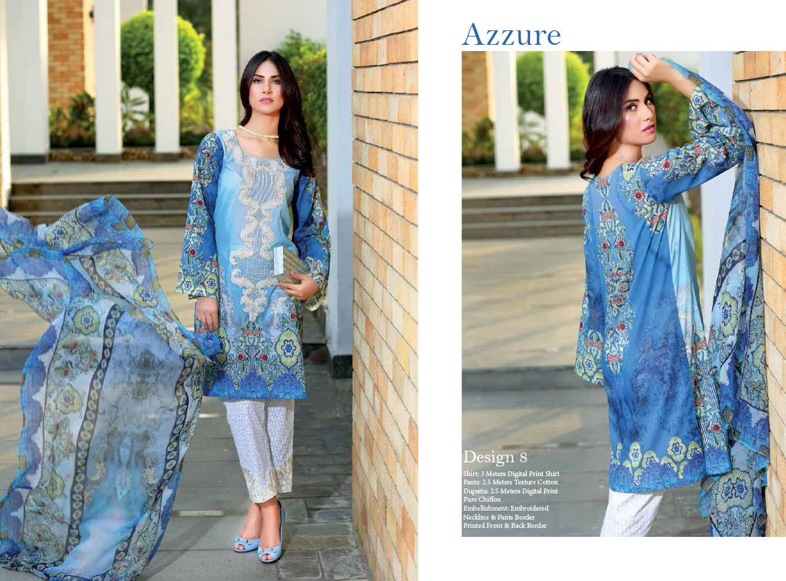 Noor by Saadia Asad Embroidered Cotton Unstitched 3 Piece Suit SN16E 08