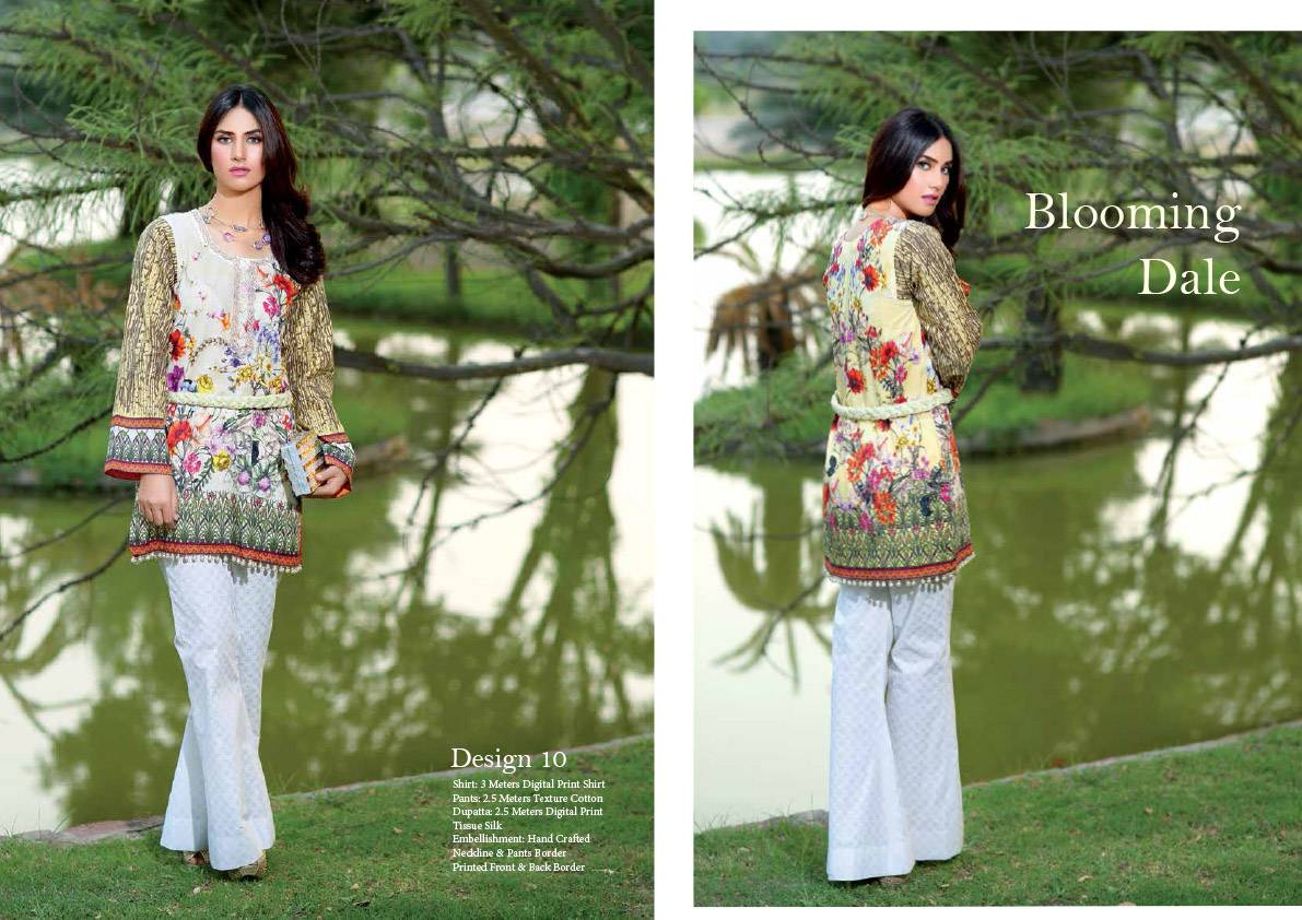 Noor by Saadia Asad Embroidered Cotton Unstitched 3 Piece Suit SN16E 10