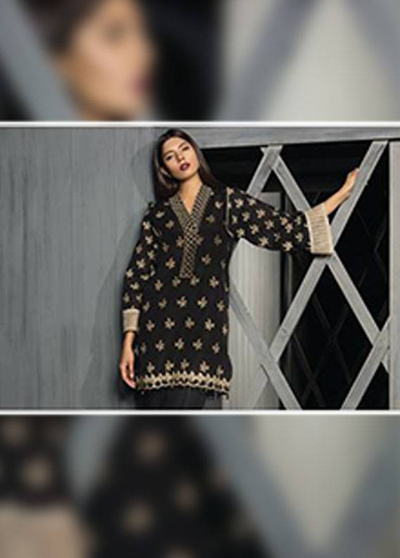Sapphire Embroidered Unstitched Suit SP17W2 Fancy Glaze B