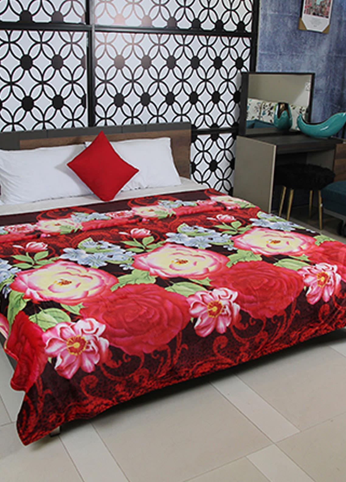 Plush Mink Double Bed Supreme Soft Finish Blankets 2 Ply Supremo-SMV223 - Home & Decor