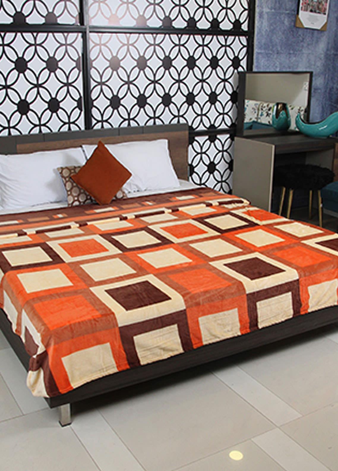 Plush Mink Double Bed Supreme Soft Finish Blankets 2 Ply Supremo-SMV227 - Home & Decor