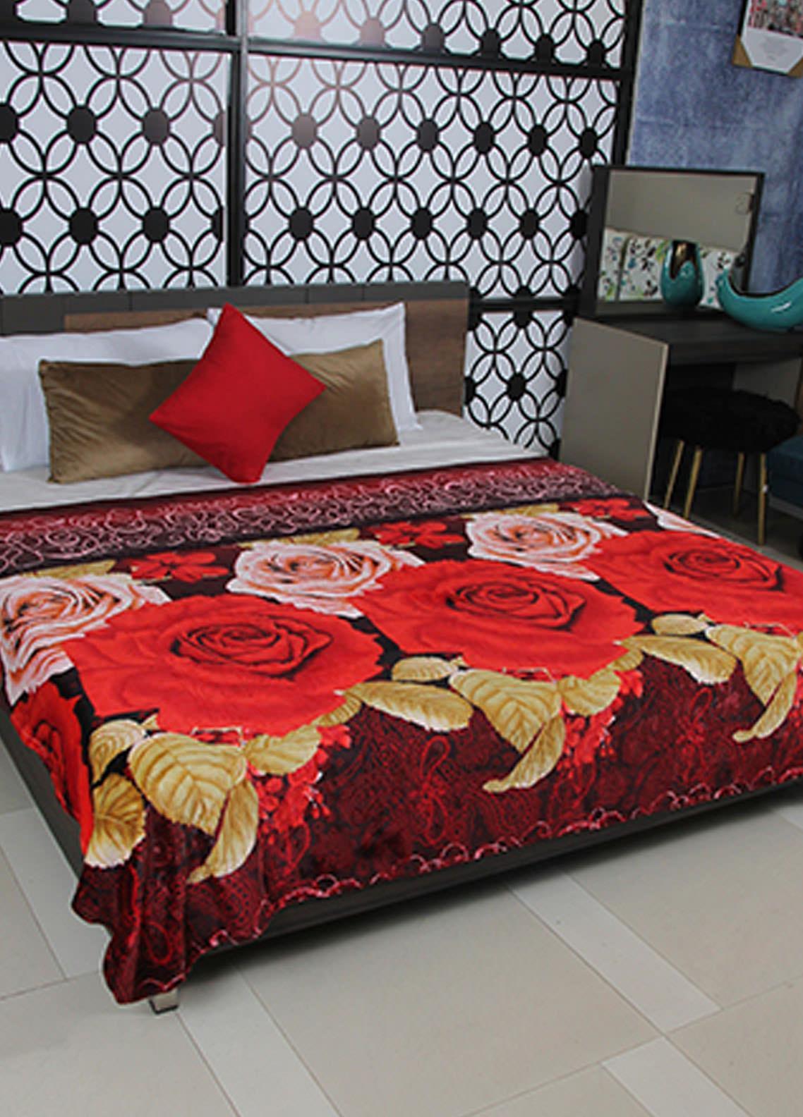 Plush Mink Double Bed Supreme Soft Finish Blankets 2 Ply Supremo-SMV229 - Home & Decor