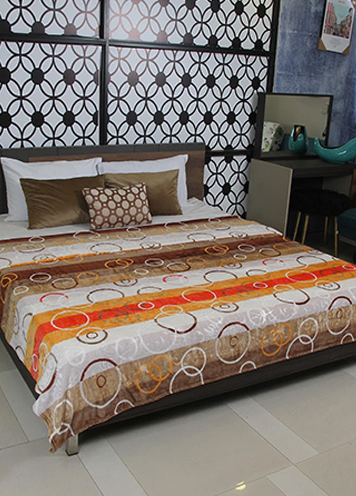 Plush Mink Double Bed Supreme Soft Finish Blankets 2 Ply Supremo-SMV231 - Home & Decor
