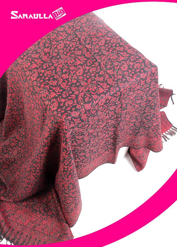 Multi Printed Pashmina Shawls for ladies - SW 246