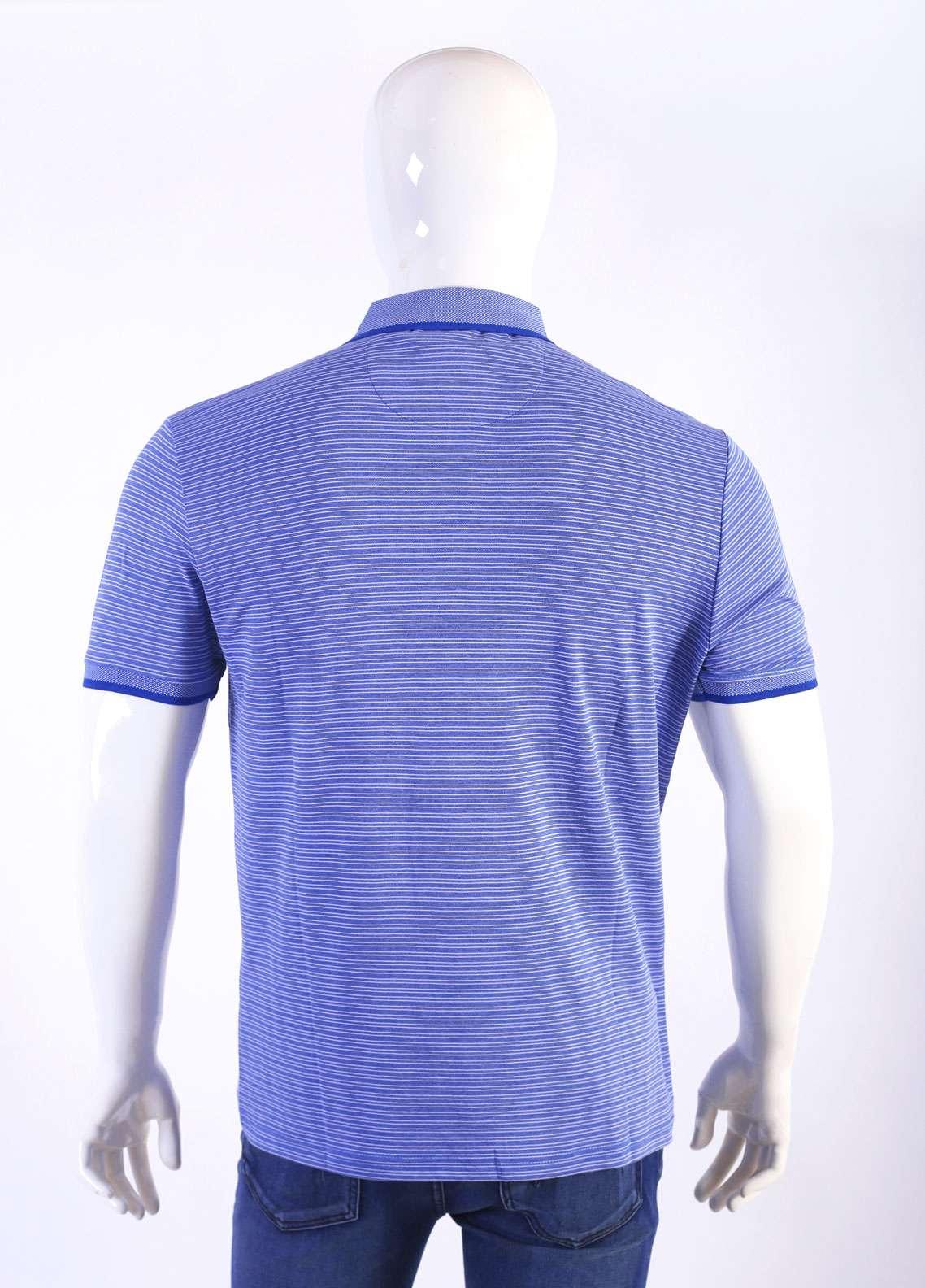 Sanaulla Exclusive Range Jersey Polo Men T-Shirts - Sky Blue TKM18S 361-04