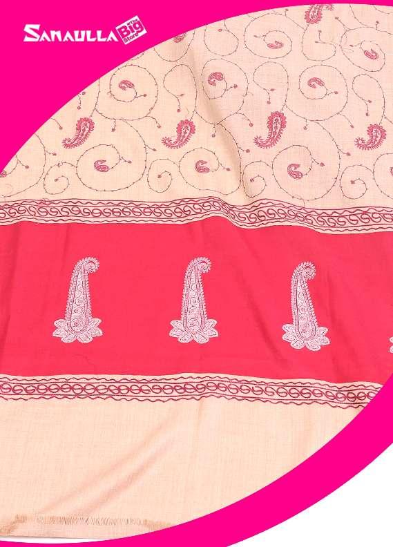 Sanaulla Exclusive Range Textured Pashmina  Shawl 65 - Formal Collection