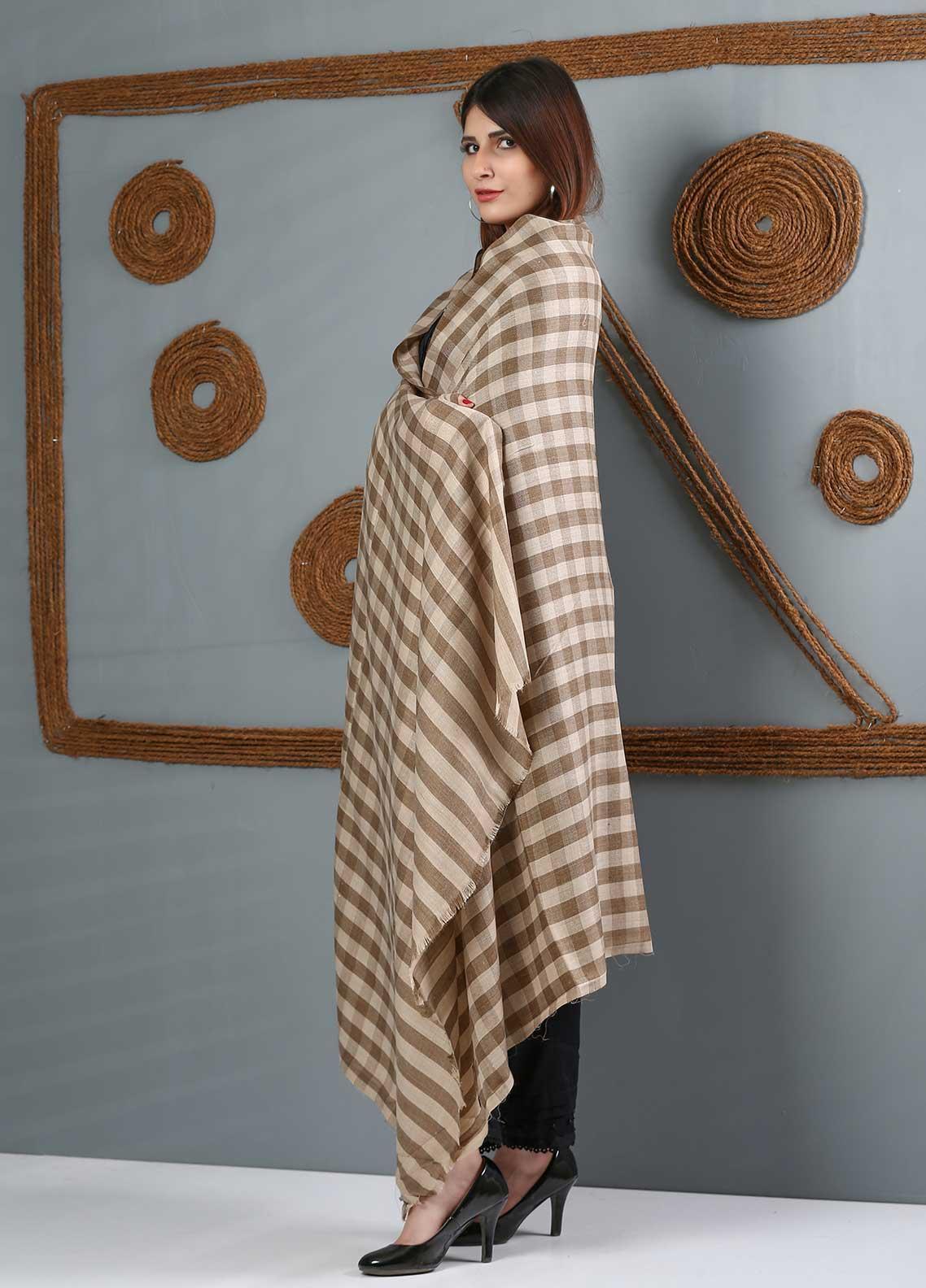 Sanaulla Exclusive Range Printed Woolen Shawl SU21WS 334167 - Woolen Shawls
