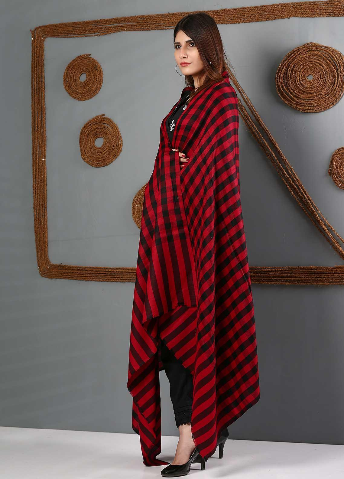 Sanaulla Exclusive Range Printed Woolen  Shawl SU21WS 334168 - Woolen Shawls