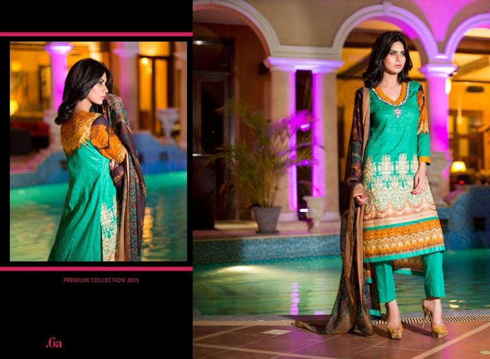 Al Zohaib Embroidered Lawn Unstitched 3 Piece Suit ZA PL 6A