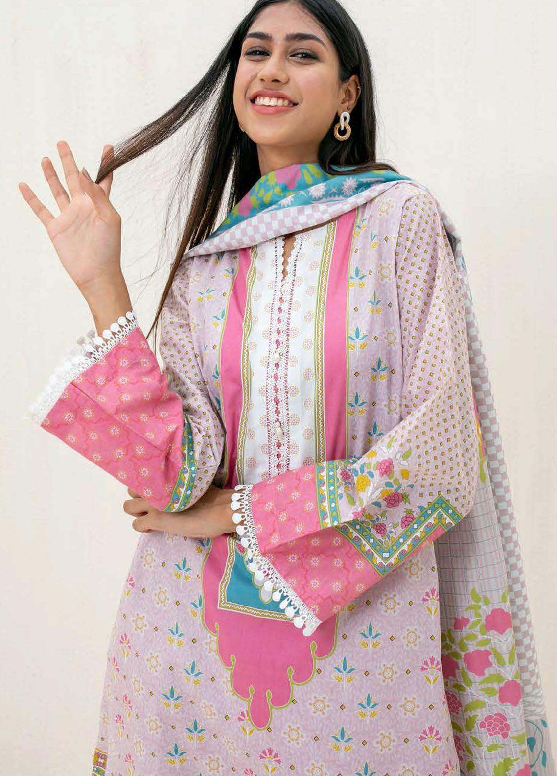 Zellbury Printed Cambric Suits Unstitched 3 Piece ZL21CB WUC21X30030 - Winter Collection