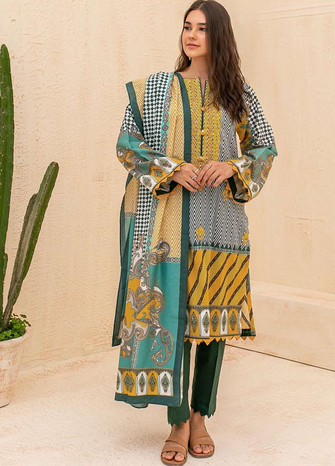 Zellbury Embroidered Cambric Suits Unstitched 3 Piece ZL21CB WUC21E30057 - Winter Collection