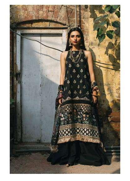 Zara Shahjahan Embroidered Lawn Unstitched 3 Piece Suit ZS17E2 Amaltas