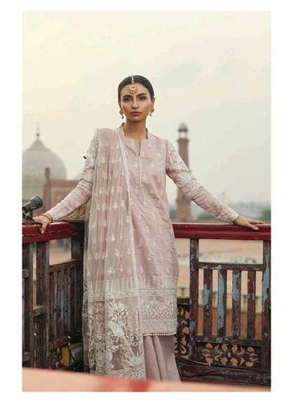 Zara Shahjahan Embroidered Lawn Unstitched 3 Piece Suit ZS17E2 Mehek